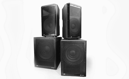 Peavey.com: News - Dark Matter™ Speaker Enclosures from Peavey® Now Available
